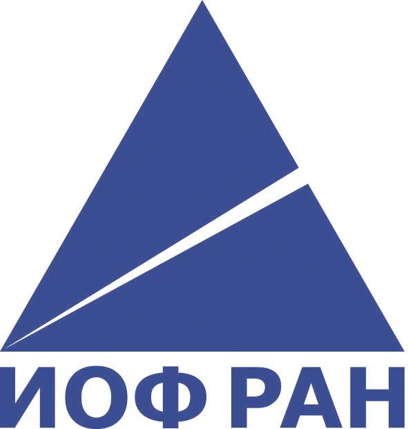 Логотип ИОФ РАН голубой